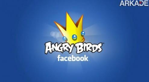Adeus vida! Angry Birds será lançado para Facebook em breve!