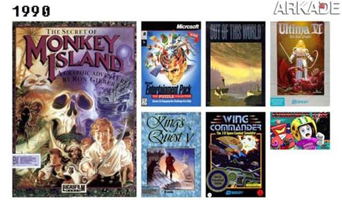 20 anos de história gamer reunidos em uma única e épica imagem