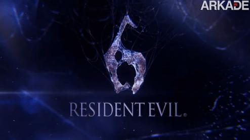 RESIDENT EVIL 6: veja agora o primeiro trailer oficial do game!