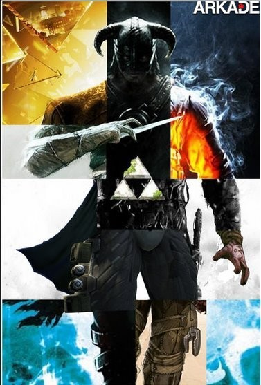 Mostre que você é bom: identifique os jogos que compõem esta imagem
