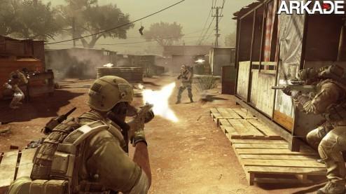 Ação e violência no novo trailer de Ghost Recon: Future Soldier