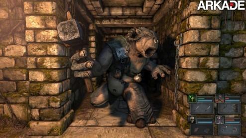 Legend of Grimrock: um RPG moderno com jeito de clássico