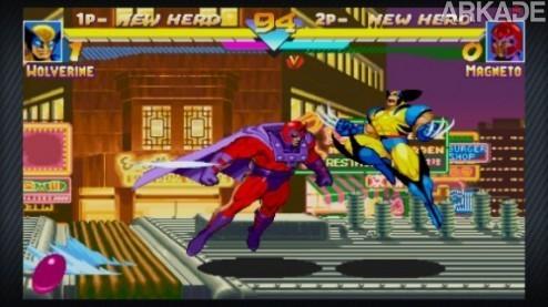 Capcom vai relançar Marvel Vs. Capcom e Marvel Super Heroes