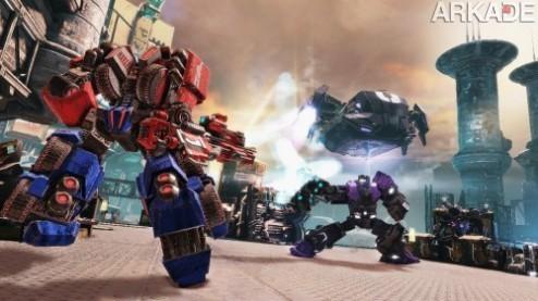 Transformers Fall of Cybertron: veja o novo trailer e a capa do jogo