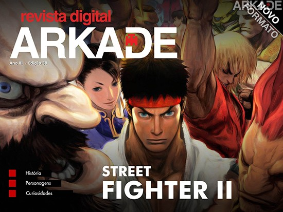 Revista Arkade #38 - Street Fighter II