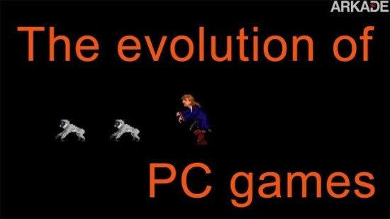 Vídeo nostálgico cria música para mostrar a evolução dos jogos de PC