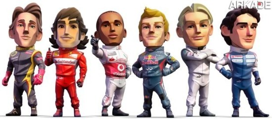 F1 Race Stars: game vai misturar Formula 1 com corridas de kart