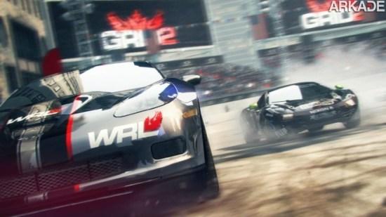 Codemasters anuncia Grid 2 com belo trailer