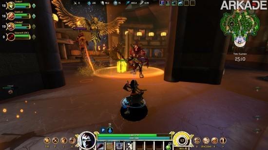 Smite (PC) - Um game que mistura Dota, League of Legends e o PvP de World of Warcraft!