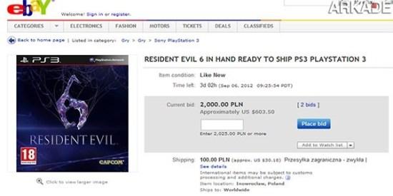 Tribuna Arkade: cópias roubadas de Resident Evil 6 já estão à venda na Polônia