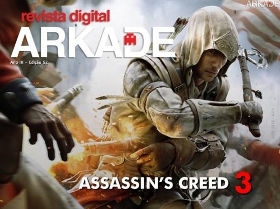 Revista Arkade #52 - Assassin's Creed III