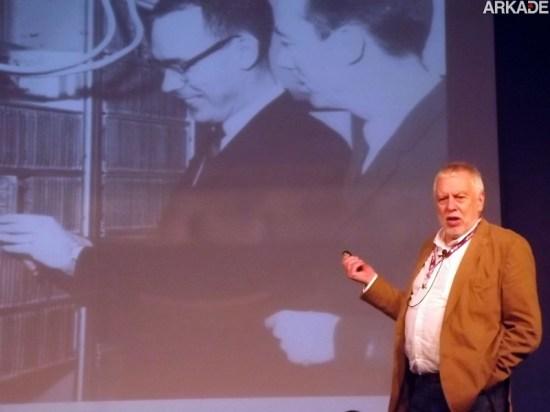 Campus Party 2013: Nolan Bushnell encanta falando de Atari, Steve Jobs e educação