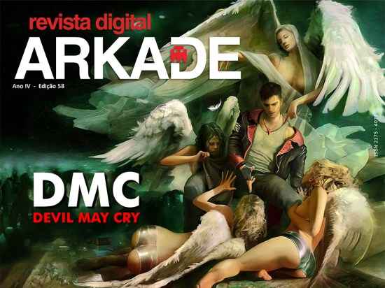Revista Arkade #58 - DmC: Devil May Cry