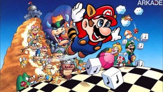 Super Mario Bros. 3: as diferenças entre as versões do Japão e dos EUA