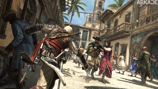 Assassin's Creed IV: Black Flag ganha novo trailer de gameplay