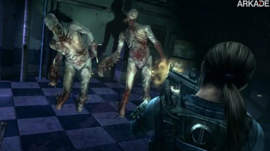 Análise Arkade - o terror em alta definição de Resident Evil Revelations HD (PC, PS3, X360, WiiU)