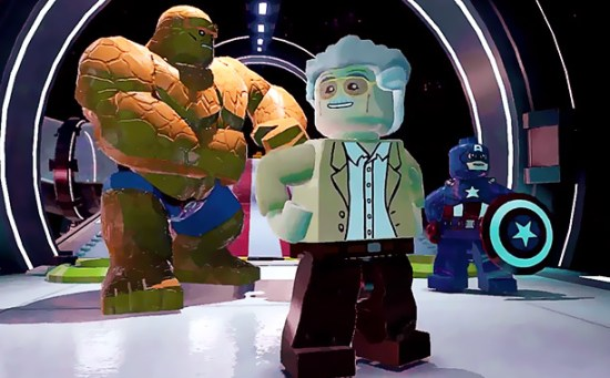 Lego Marvel Super Heroes: Stan Lee superpoderoso invade o novo trailer do game