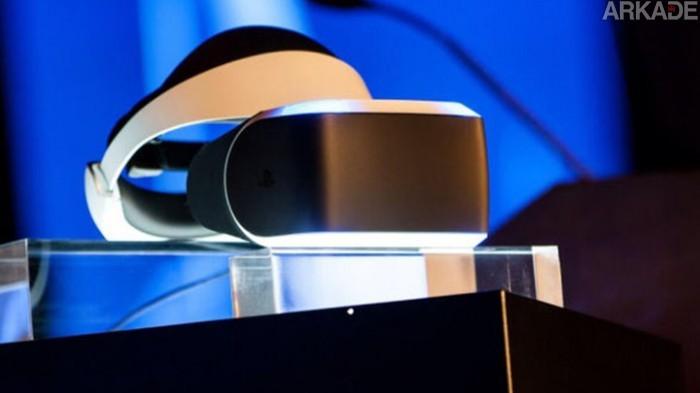 Conheça Morpheus, o aparelho de realidade virtual do PlayStation 4