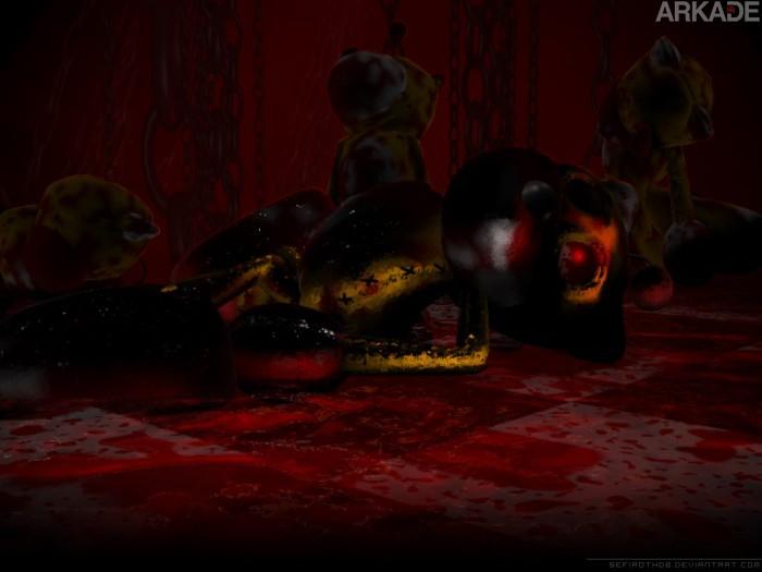 Creepypasta Arkade: A corrida para a morte guiada por Tails Doll
