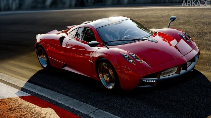 O visual de Project Cars é tão incrível que fica difícil saber o que é jogo e o que é vida real