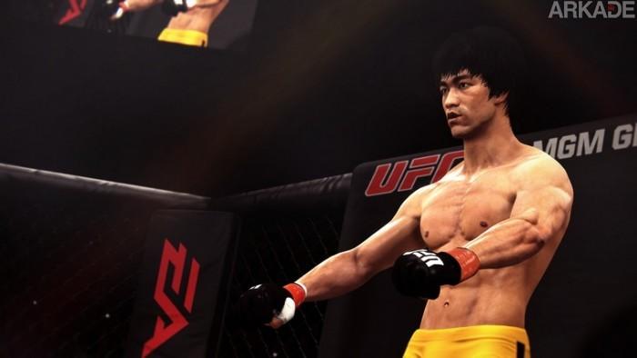 Bruce Lee vai invadir o octógono em EA Sports UFC 2014. E aí, vai encarar?