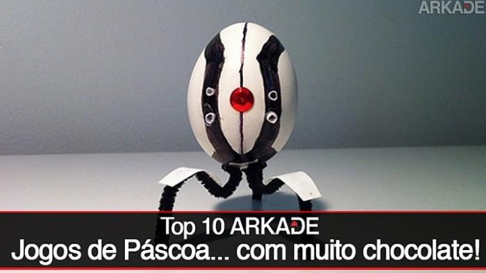 Top 10 Arkade: Jogos para se divertir na páscoa!