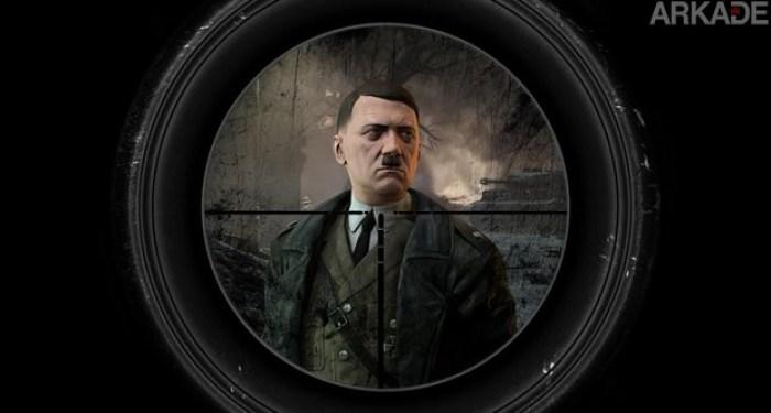 Tente matar Hitler na missão especial de pré-venda de Sniper Elite 3