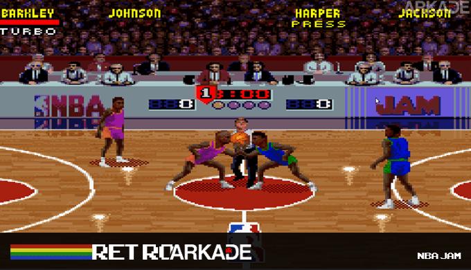 RetroArkade: BOOMSHAKALAKA! Welcome to NBA Jam!