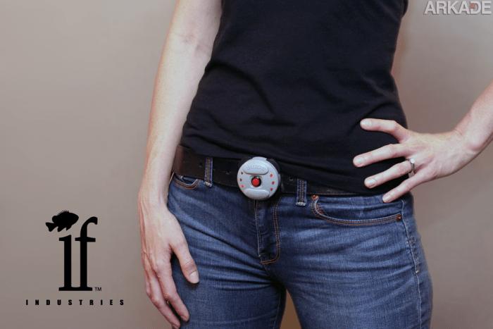 Segure suas calças com o cinto de minas de proximidade do Goldeneye 007