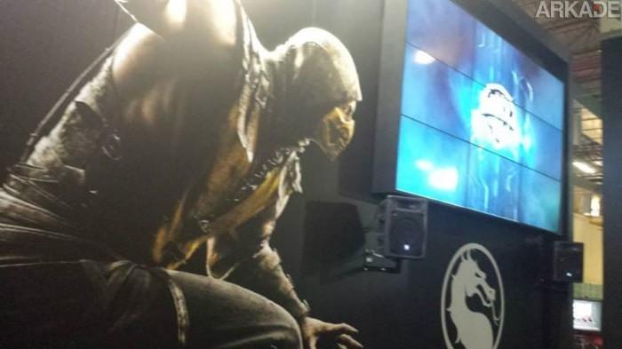 BGS 2014 – Derramamos muito sangue em Mortal Kombat X! Curioso pra saber o que achamos do jogo?