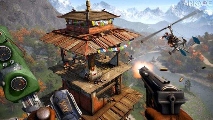 Aventuras selvagens e esportes radicais em novo trailer de Far Cry 4