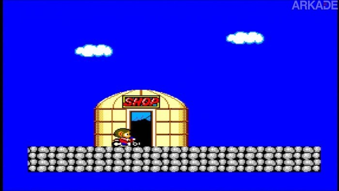 RetroArkade: Derrote vilões no jan-ken-pô em Alex Kidd, o melhor jogo na memória de todos os tempos.