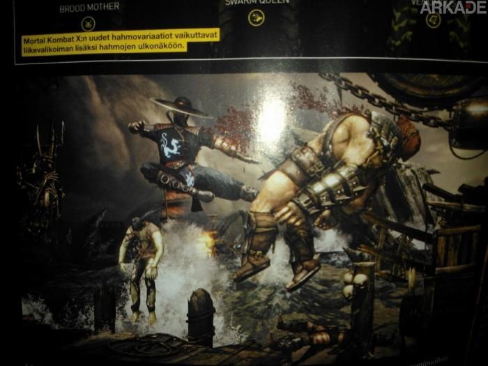 Mortal Kombat X: revista finlandesa revela o retorno de Kung Lao!