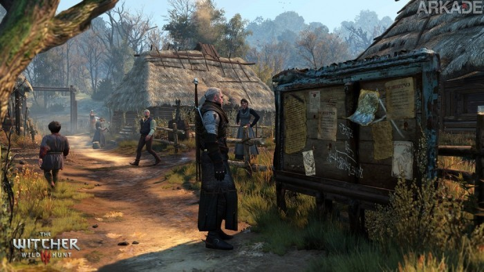Novas screenshots de The Witcher 3: Wild Hunt para alegrar o seu dia