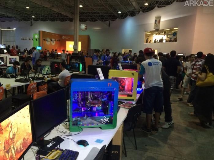 Campus Party 2015: A fantástica fábrica de gabinetes irados