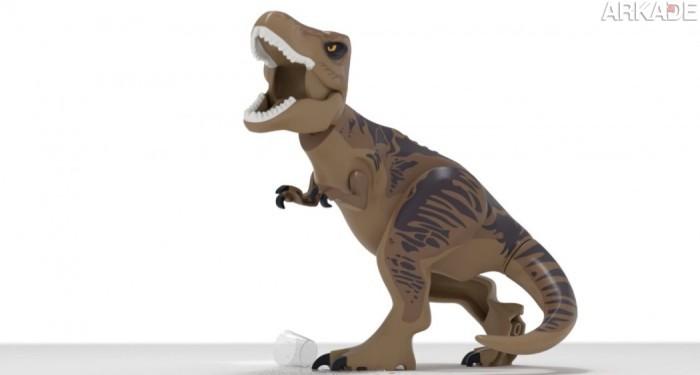 Lego Jurassic World ganha teaser-trailer e permitirá ao jogador criar e controlar dinossauros