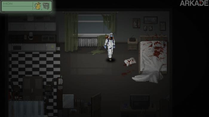 Do Not Cross: Interessante indie mostra o trabalho de limpar cenas de crime