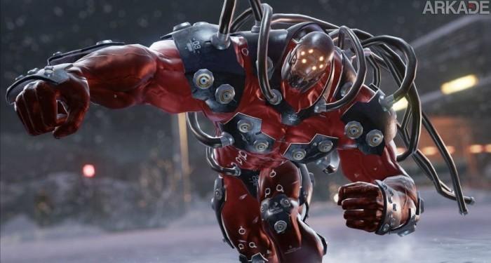 Diga olá para Gigas, o (enorme) novo lutador de Tekken 7