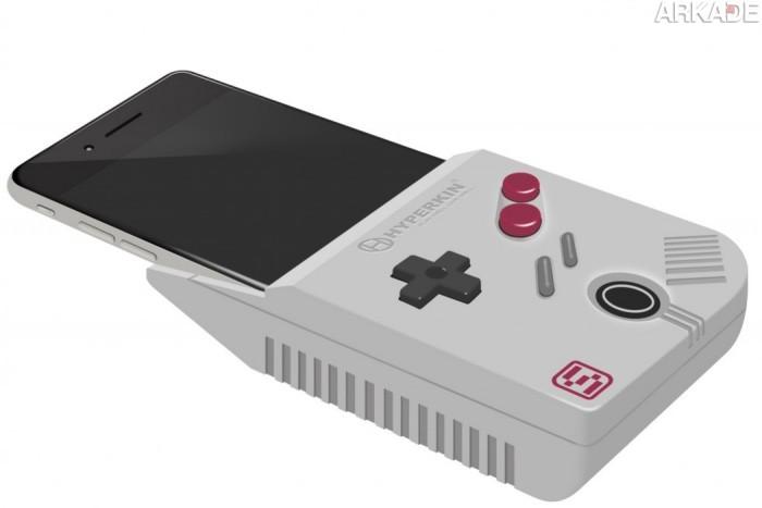Transforme seu iPhone 6 em um Game Boy com este acessório da Hyperkin