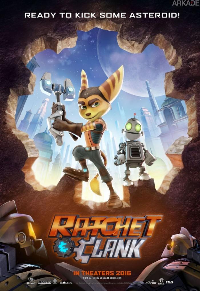 Parece que vai demorar mais um pouco para vermos Ratchet e Clank no PS4 e no cinema