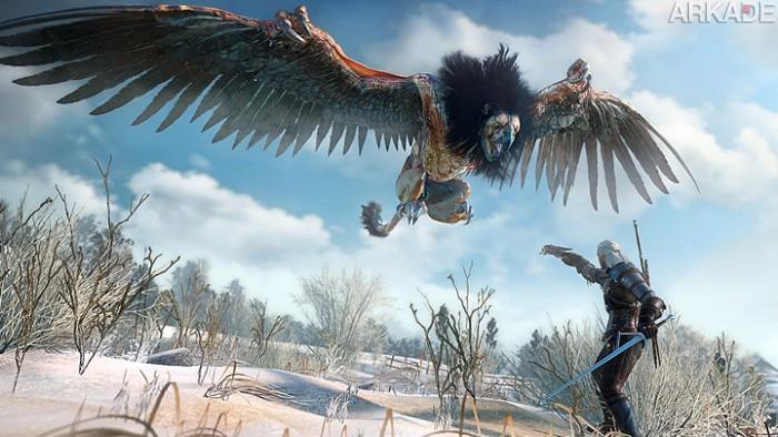 Novo vídeo mostra The Witcher 3 rodando no Playstation 4
