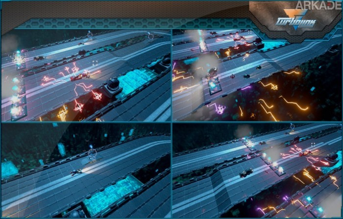 TurboLink é um jogo de corrida futurista nacional que busca apoio da Square Enix