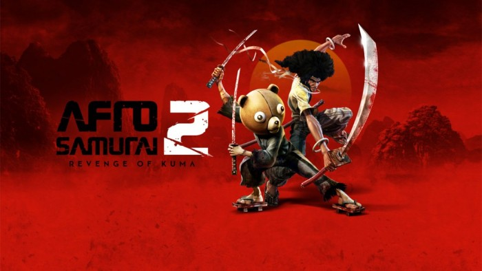 Afro Samurai 2 chega em breve com espadas, sangue e um guerreiro com cabeça de urso