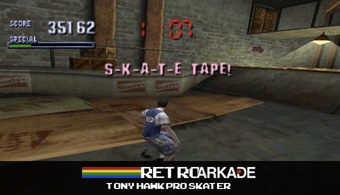 RetroArkade: Sendo bom de skate pelo menos uma vez na vida com Tony Hawk... ou não?
