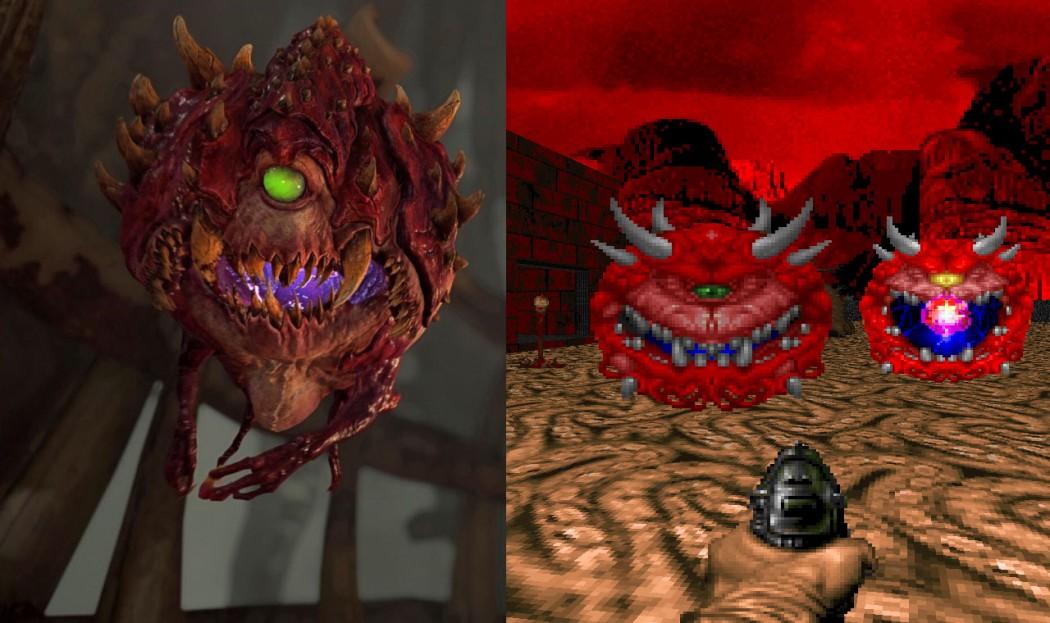 Compare os inimigos de Doom 4 com os antigos nas novas screenshots do jogo - Arkade