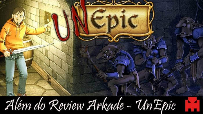 Além do Review Arkade - Unepic no PS Vita foi um companheiro para todas as horas