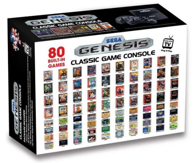 Se não quer esperar o retorno do NES, já tem um Mega Drive semelhante na Amazon