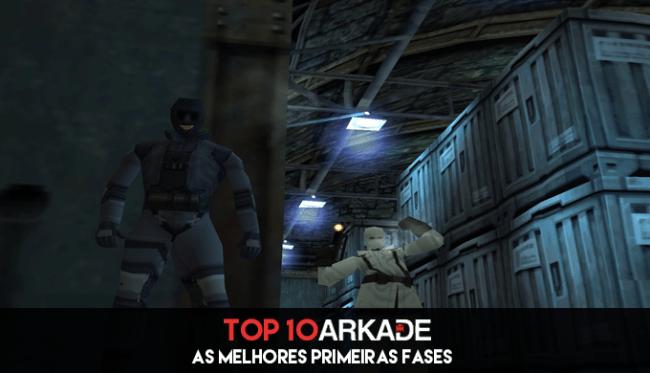 Top 10 Arkade: As melhores primeiras fases dos games