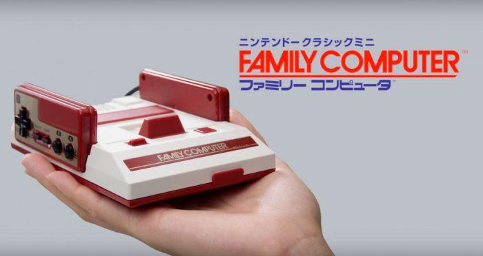 """Os japoneses também terão seu """"mini 8-bit"""", com o Famicom Mini"""