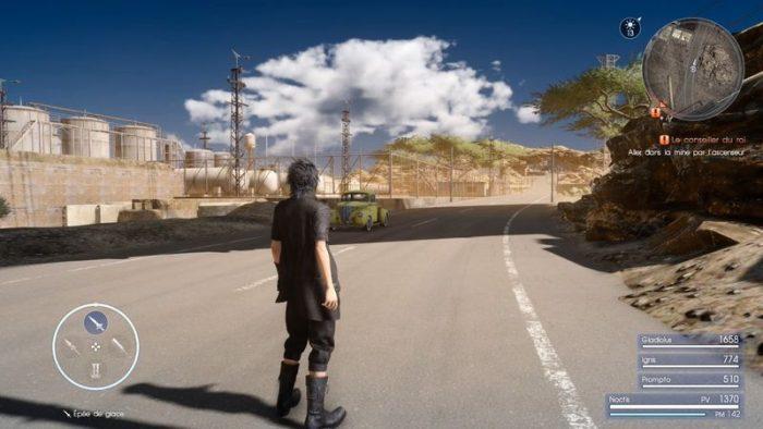 Jogadores descobrem várias áreas não usadas de Final Fantasy XV através de glitches